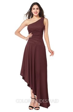 76b25a97027f ColsBM Angela - Burgundy Bridesmaid Dresses
