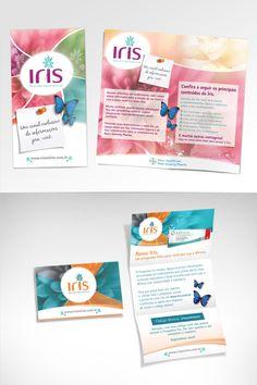 campanha: Iris - peça: folhetos