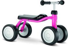 <p>Pukylino og Wutsch anbefales til foreldre som ønsker at understøtte deres minste barns bevegelsesutvikling.</p><p>Pukylino er et klassisk begynner kjøretøy som kan benyttes av barn som nettopp har lært å gå.</p>