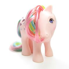 Parasol Rainbow Pony Vintage G1 My Little Pony by BrownEyedRose