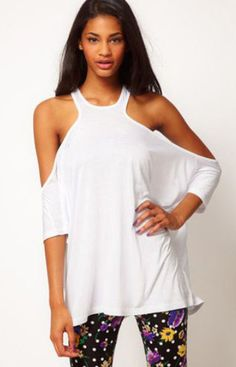 Halter Loose Casual Blouse (More colors available)