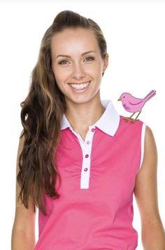 Girls Golf, Southern Prep, Pink, Style, Fashion, Swag, Moda, Fashion Styles, Pink Hair