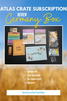 The more we get the Atlas Crate geography subscription box, the more I love them. The Germany box is no different. Actually, it's almost like this box was made for this family of kids born in Germany, with a mom who has a website about books and a son who is obsessed with cars. But, ... Read More about  Atlas Crate Review: Germany Box