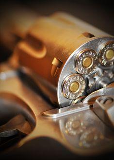 Smith & Wesson .357 magnum.  My favorite gun!