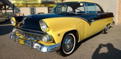 1955 Ford Victoria 2dr Hardtop $26,400  by Magnusson Classic Motors in Scottsdale AZ . Click to view more photos and mod info.
