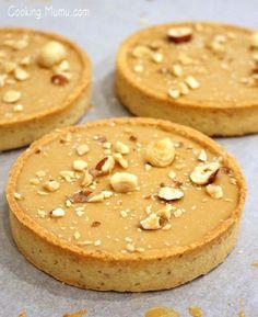 Tarte noisette et chocolat Dulcey | Cooking Mumu Plus