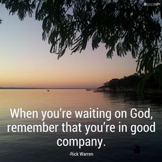 You are not alone in the waiting rooms of life. Learn more in this devotional from Daily Hope with Rick Warren.