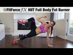 FitForceFX HIIT Full Body Fat Burner - YouTube