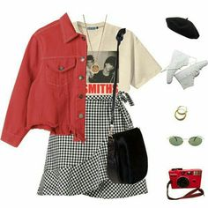 A fashion look from March 2018 featuring Retrò t-shirts Nomadic messenger bags . - A fashion look from March 2018 featuring Retrò t-shirts Nomadic messenger bags … – cute outfits – Source by juliajanzenms - Trend Fashion, Teen Fashion Outfits, Mode Outfits, Retro Outfits, Cute Casual Outfits, Cute Fashion, Look Fashion, 90s Fashion, Stylish Outfits