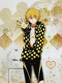 Free! Anime - nagisa hazuki - ma cute lil' bae