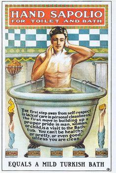 Sapolio Soap, 1900 by Gatochy, via Flickr