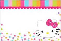 Printable Hello Kitty Birthday Invitations Hello Kitty intended for Hello Kitty Background Invitation - All Cartoon Wallpapers Hello Kitty Invitation Card, Hello Kitty Birthday Invitations, Birthday Invitation Card Template, Free Printable Invitations Templates, Invitations Online, Party Invitations, Free Printables, Hello Kitty Backgrounds, Hello Kitty Wallpaper