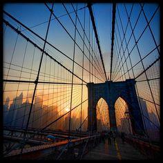Toutes les tailles | Brooklyn Bridge Sunset [159/365] | Flickr: partage de photos!