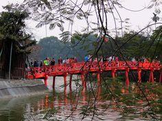 Hanoi, lago della Spada Restituita