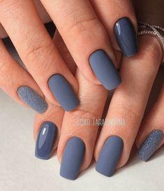 Best Nail Art Designs, Acrylic Nail Designs, Winter Nail Designs, Acrylic Art, Stylish Nails, Trendy Nails, Nail Color Trends, Dipped Nails, Best Acrylic Nails
