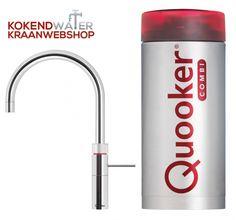 De Quooker Combi 2.2 fusion round - De Quooker Fusion Round keukenkraan biedt naast gewoon warm en koud water ook kokend water.