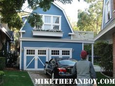 on the set of desperate housewives on wisteria lane at bree marcia crosses house