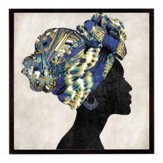 Stretched Canvas Prints, Canvas Art Prints, Canvas Wall Art, Canvas Paintings, Easy Paintings, Painting Edges, Painting Art, African Art, African Women
