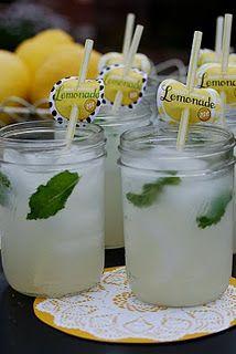 Cocktail Hour Lemonana (Lemonade + Mint)