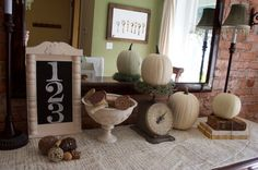decorate with old spools | shared with you here that I have a love for vintage spools ...
