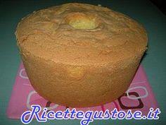 Chiffon cake o ciambellone americano , ricette chiffon cake , ricetta chiffon cake