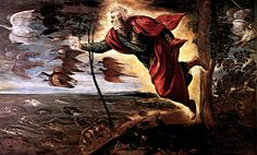 Tintoretto~ Creation of the Animals -