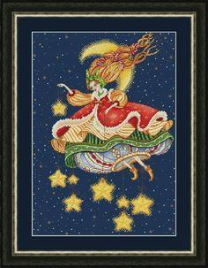 Фея ночного неба, схема для вышивки, арт. ЕА-033 Елена Аверина | Купить онлайн на Mybobbin.ru