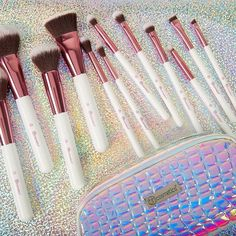 """9,357 Likes, 70 Comments - BH Cosmetics (@bhcosmetics) on Instagram: """"Your chance for a FREE. CRYSTAL. QUARTZ. BRUSH SET.✨ Our Makeup Rush Beauty Game is going on now…"""""""