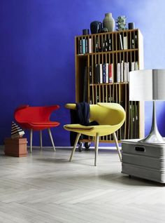 archiproducts - FROST by Stouby Furniture, designed by the Danish. Furniture Design, Room Colors, Built In Furniture, Furniture, Interior, Bright Walls, Home Decor, House Interior, Blue Rooms
