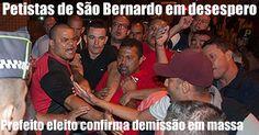 Prefeito eleito de São Bernardo, a cidade de Lula, confirma demissão em massa de petistas