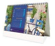 calendrier pratique - chevalet mediterranée