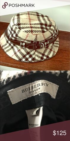 Burberry Winter wool hat! Used Burberry Wool Hat Burberry Accessories Hats
