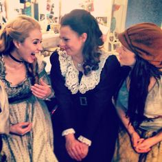 Sierra Boggess, Samantha Dorsey, Danielle Hope