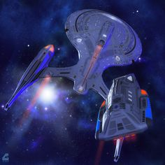 Century Class by DJ Curtis, converted by Celticarchie. Volga Class Runabout by Medjai, converted by Mattymanx. That's Our Ride Concept Ships, Concept Art, Stark Trek, Starship Concept, Star Trek Characters, Star Trek Starships, Sr1, Star Wars, Star Trek Ships