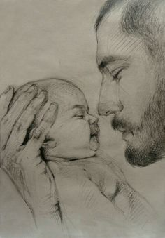 Sketch Drawing Of Dad - My Recent Drawings On Behance Pencil Art Drawings Dad Drawing Love Never Dies Unendinglove Father Daughter Dad Drawing Royalty Free Dad Son Sketch Sto. Dad Drawing, Girl Drawing Sketches, Art Drawings Sketches Simple, Baby Girl Drawing, Abstract Pencil Drawings, Realistic Pencil Drawings, Art Drawings Beautiful, Dark Art Drawings, Baby Sketch