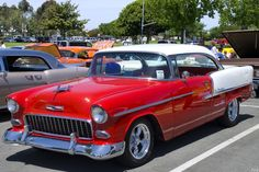 Occasionally, a new car arrives at just the right moment and history is made. One such standout in the 100-years of Chevrolet is the 1955 Be 1956 Chevy Bel Air, 1955 Chevrolet, Chevrolet Bel Air, Vintage Cars, Young, Vehicles, History, Historia, Car