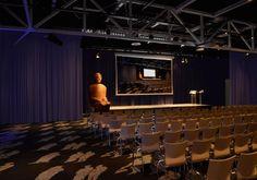 Het CORPUS Congress Centre is een unieke en aansprekende locatie voor een groot- of kleinschalig evenement, conferentie, congres of symposium. Maar ook een beurs, vergadering, borrel, diner of feestavond komt goed tot zijn recht.