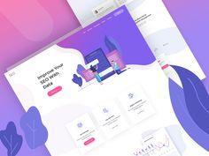 SEO Landing page designed by JCS. Website Design Cost, Hotel Website Design, Icon Design, Web Design, Website Icons, Landing, Seo, Improve Yourself, Digital