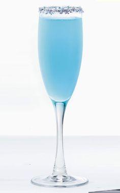 The Dazzled: 2 oz. HPNOTIQ  2 oz. champagne  Pour chilled Hpnotiq and champagne into a flute and stir.  Source: HPNOTIQ