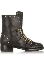 Studded leather ankle boots | Fashion for tall women | tall clothing | tall style | tall ootd | long legs | tall clothes