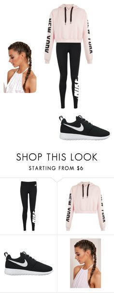 """Style #1"" by miss-mississippi2017 ❤ liked on Polyvore featuring NIKE"
