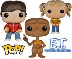 Bonecos Pop! de E.T. – O Extraterrestre!