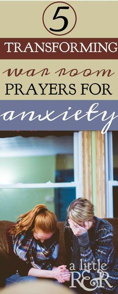 If you're battling anxiety, depression, and stress, the Bible is full of verses that boost our faith and trust in the Lord. Here are 5 transforming war room prayers that will help you win the victory over anxiety!