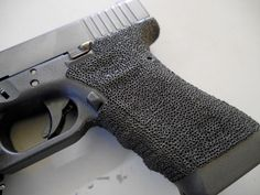 Glock 17 Grip Stipple