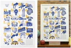 to frame ... An A to Z of New York	 BY LAURA SEABY