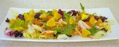 Sugg-r and some Salt: cinco ensaladas de verano con fruta {invitadas} #ponunaensalada Salads, Summer Salads, Fruit, Recipes, Salad, Chopped Salads