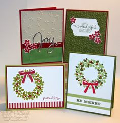 Jill's Card Creations: Wondrous Wreath Card kit