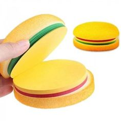 f692702f56 Burger Memo pad Cheeseburger memo pads ready to eat (write) Made of sponge  and sticky colou