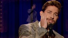 Jimmy Fallon Lip Sync-Off with John Krasinski...if I didn't love John before...