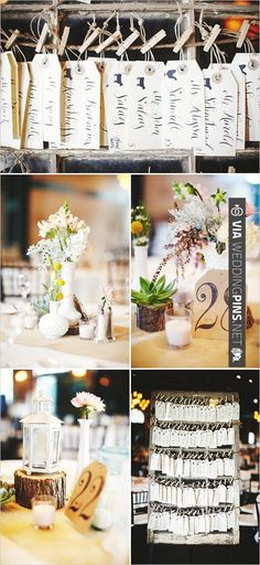 Mini lantern centerpieces - rustic chic wedding | CHECK OUT MORE IDEAS AT WEDDINGPINS.NET | #weddings #weddinginspiration #inspirational